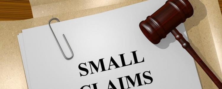 Small claims e tecnologia
