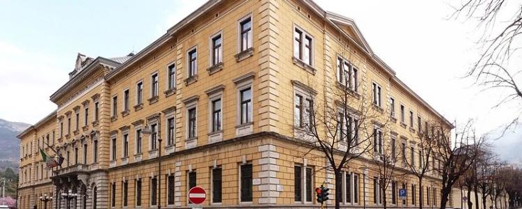 Inaugurazione dell'anno giudiziario presso la Corte d'Appello di Trento